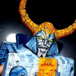 Custom Cel-shaded HasLab <em>Transformers</em> Unicron Looks Like Unicron Just Stepped Out From A Cartoon
