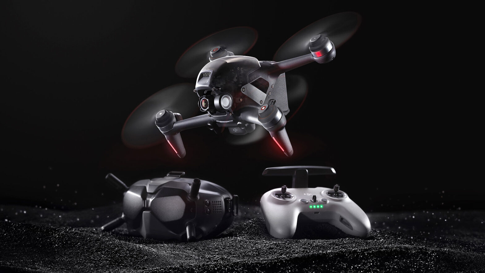 DJI FPV Imaging Drone and FPV Drone Hybrid