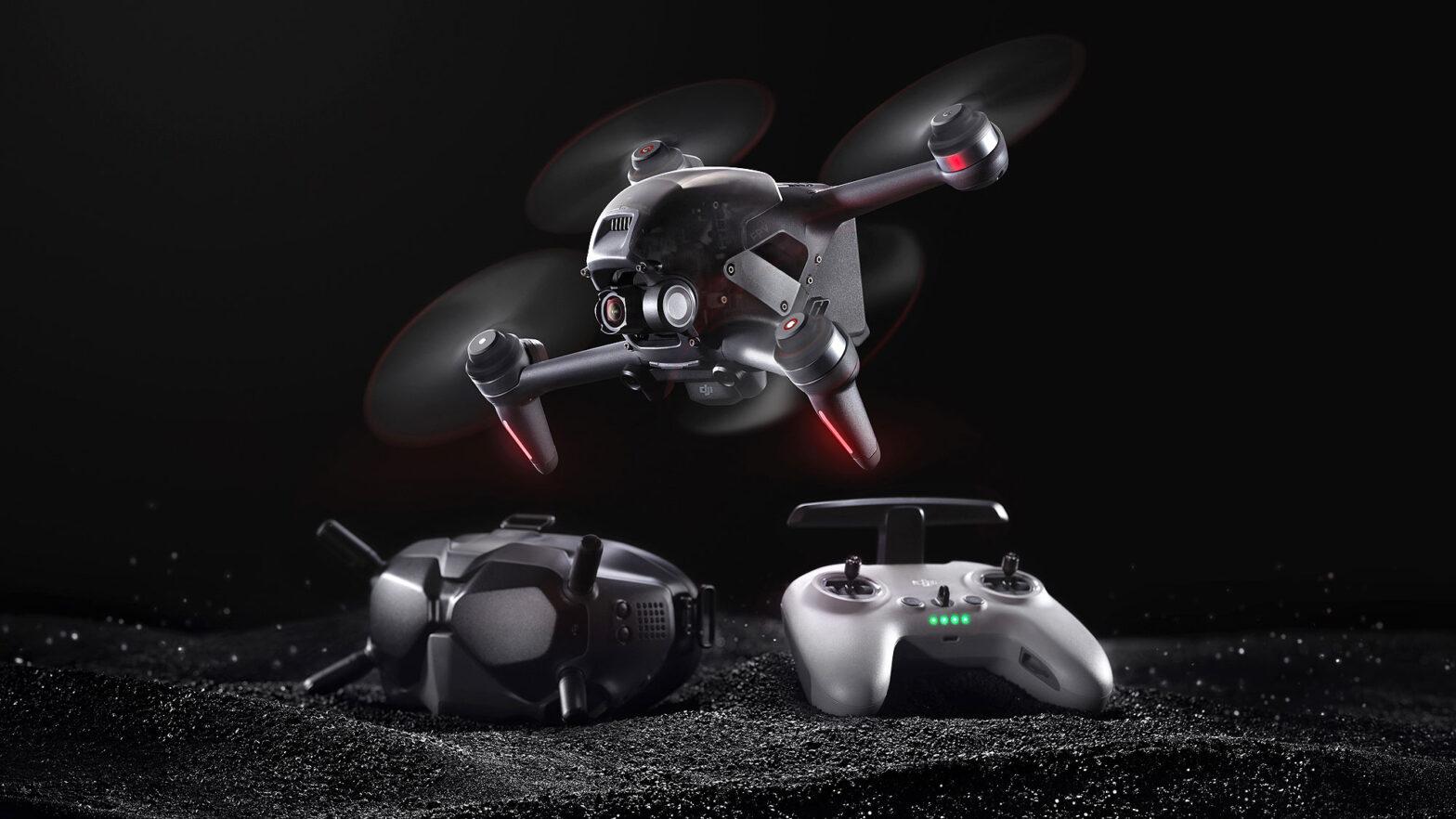 DJI FPV Imaging Drone and FPV Drone Hybrid