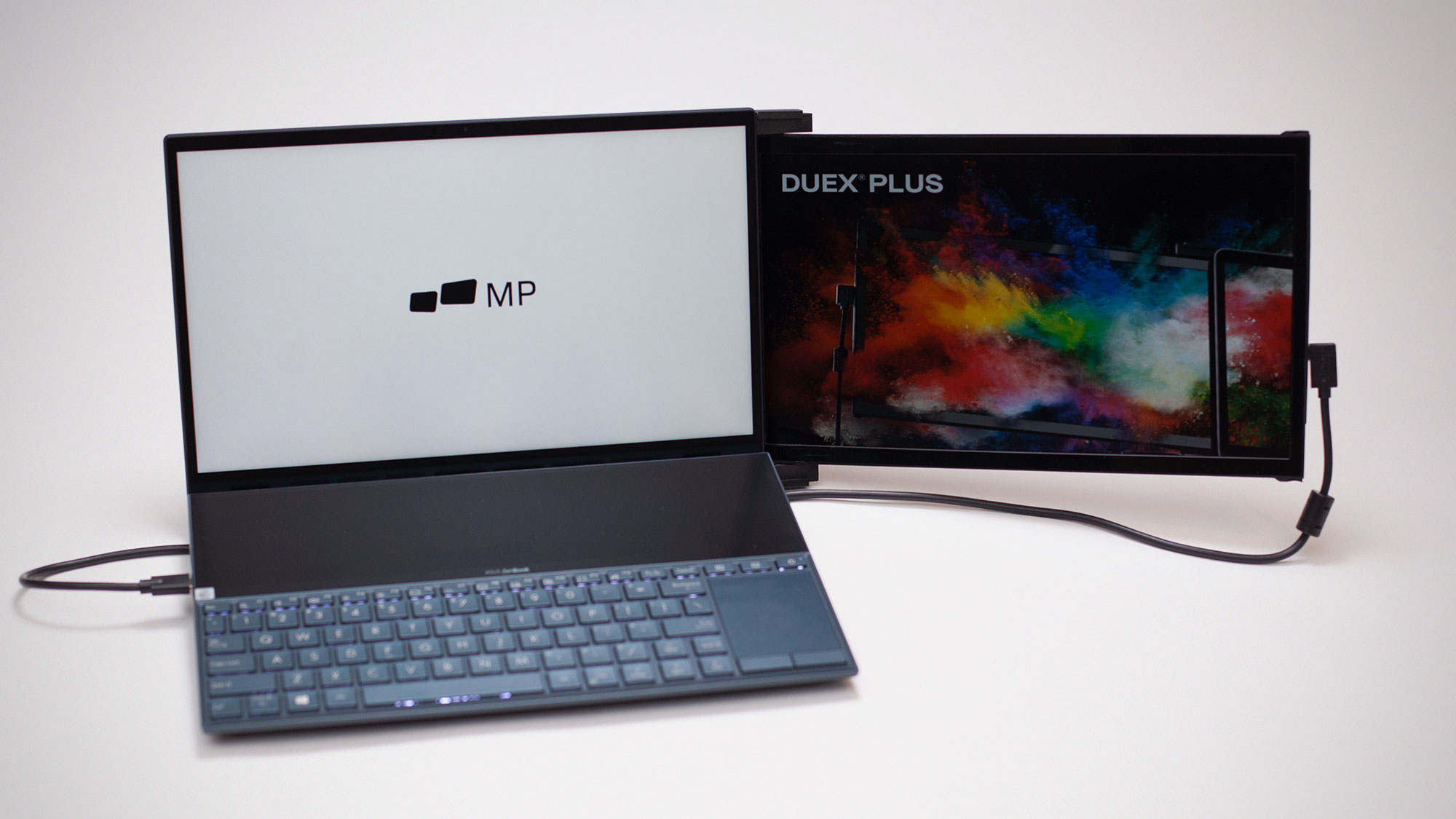Duex Lite and Duex Plus Dual-screen Laptop Monitors
