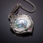 <em>Evangelion</em> Goes Luxury With The U-Treasure Rei Ayanami Pocket Watch