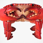 A Different Kind Of Throne: The Giant Red King Crab Sculptural Chair