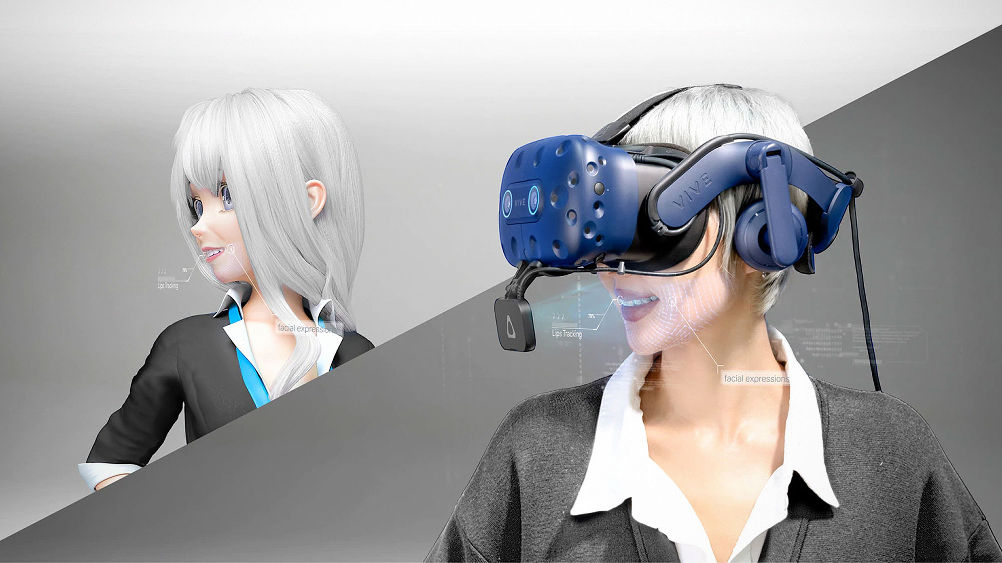 HTC VIVE Tracker (3.0) and Facial Tracker for VR