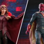 Hot Toys WandaVision Scarlet Witch Is Based On Elizabeth Olsen and Vision Is Based On, Who?