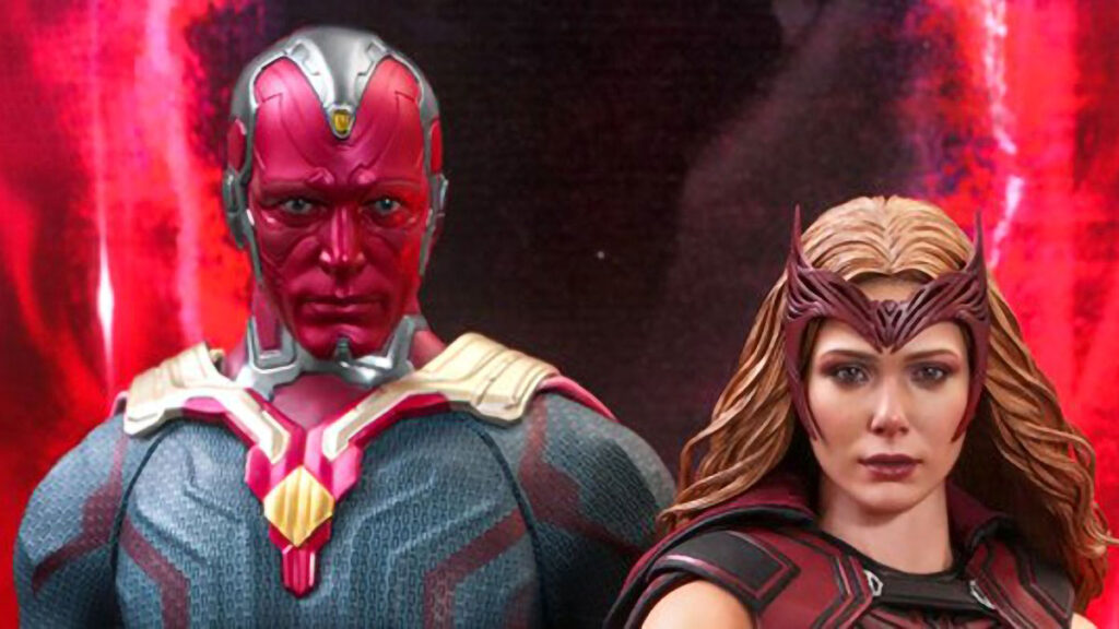 Hot Toys WandaVision Scarlet Witch and Vision