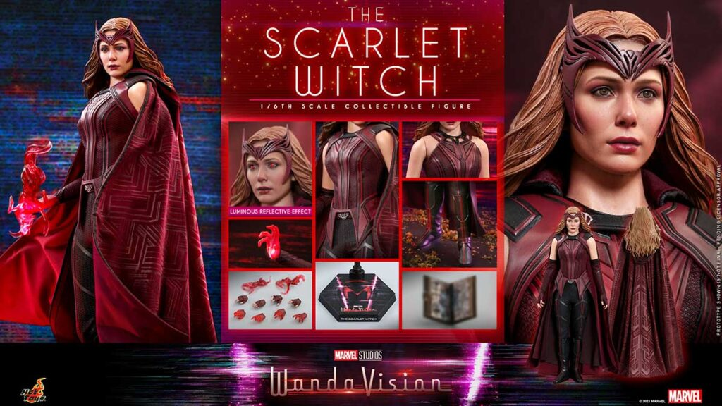 Hot Toys WandaVision Scarlet Witch 1/6th Collectible Figure