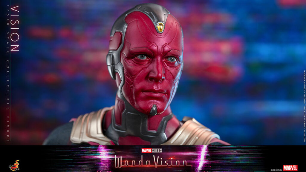 Hot Toys WandaVision Vision 1/6th Collectible Figure