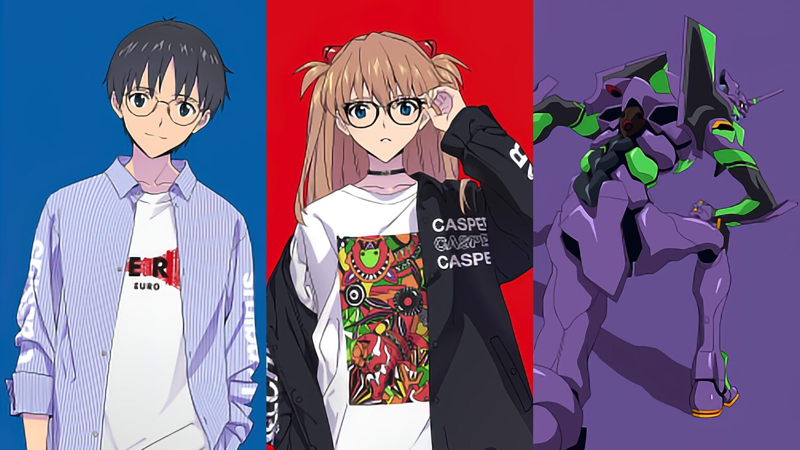 JINS x Evangelion Officially Licensed Eyewear