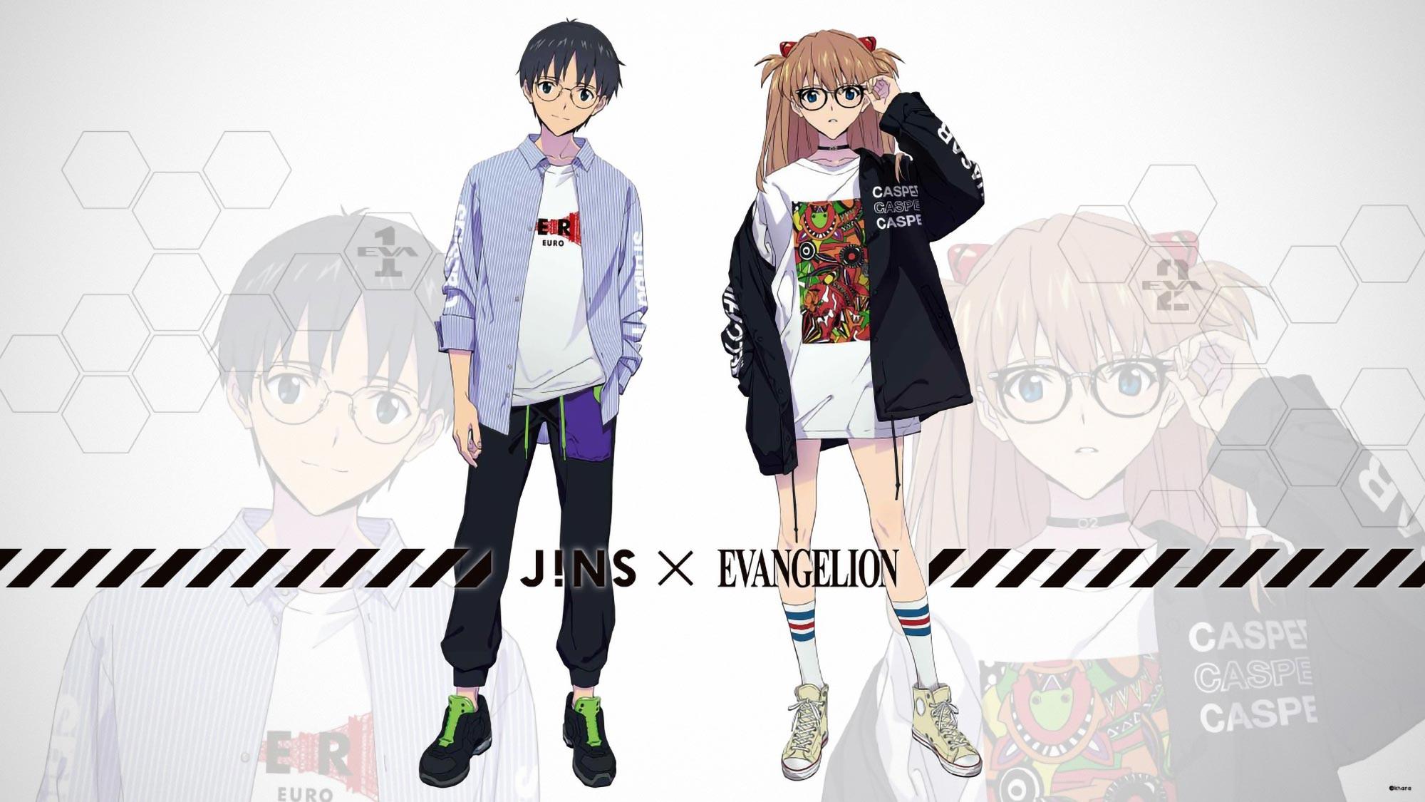 JINS x Evangelion Officially Licensed Eyewear