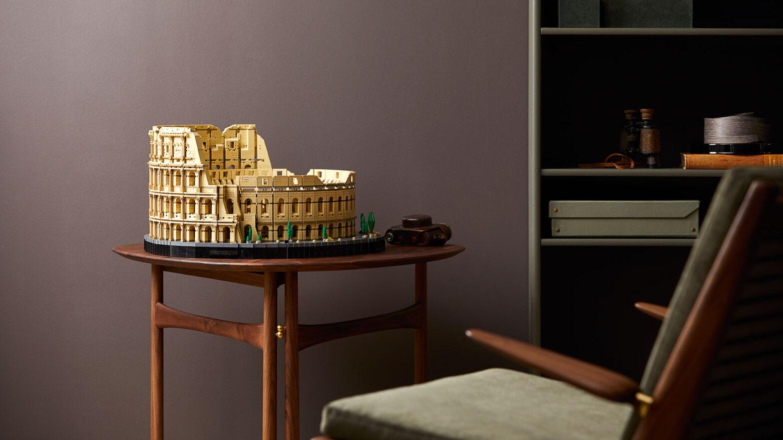 LEGO Colosseum Guinness World Records