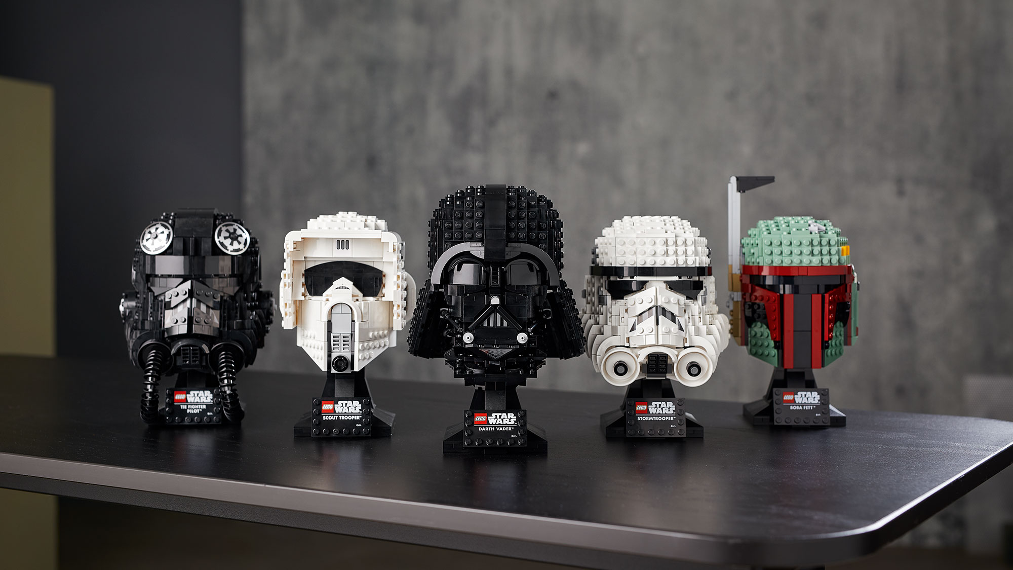 LEGO Star Wars Buildable Helmet Collection