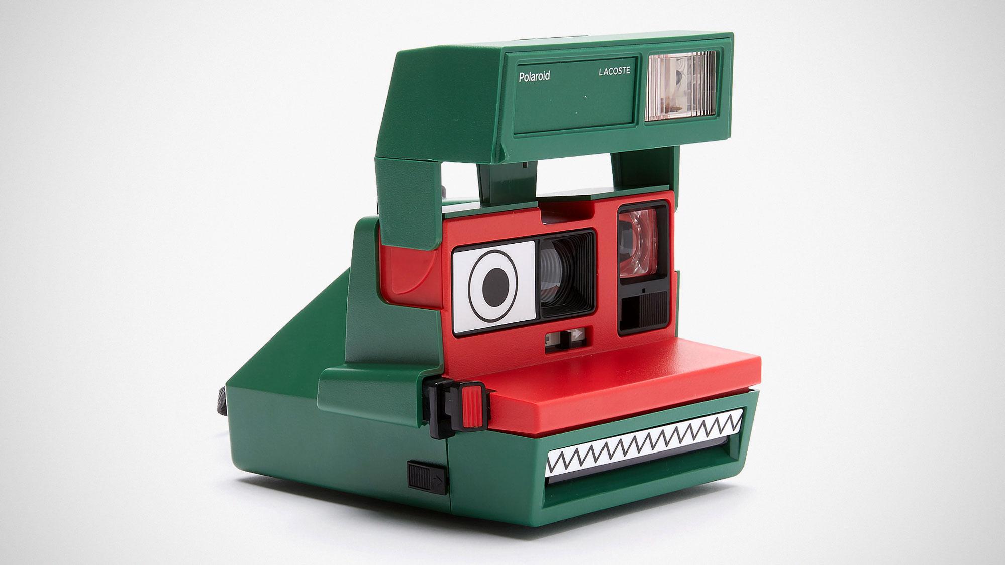 Lacoste x Polaroid 600 Instant Camera