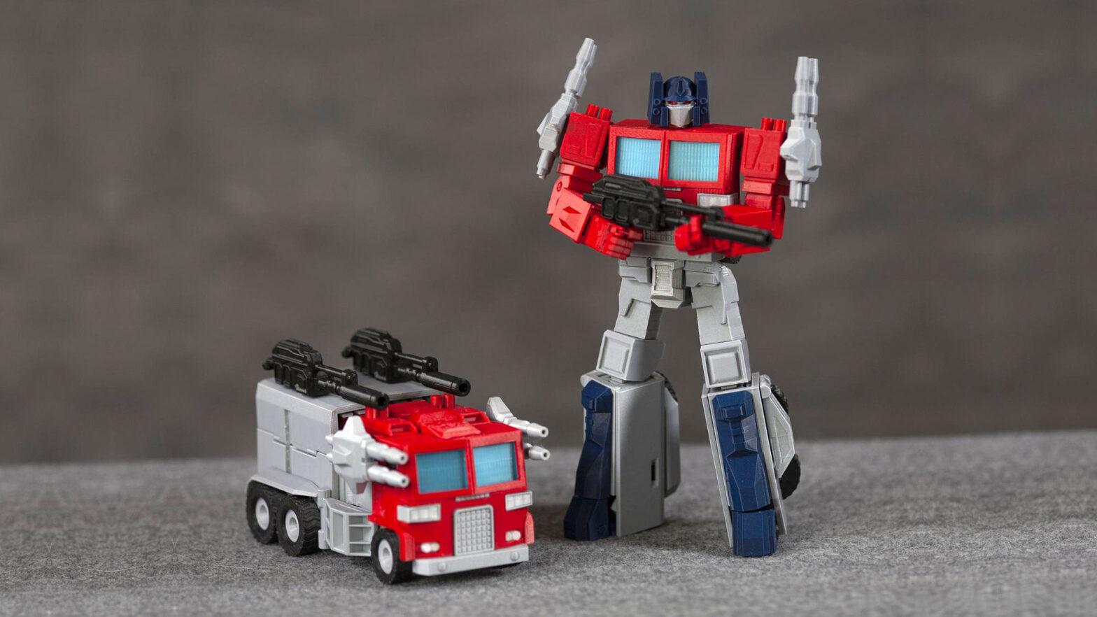 Marvel-inspired Transformers Optimus Prime Figure