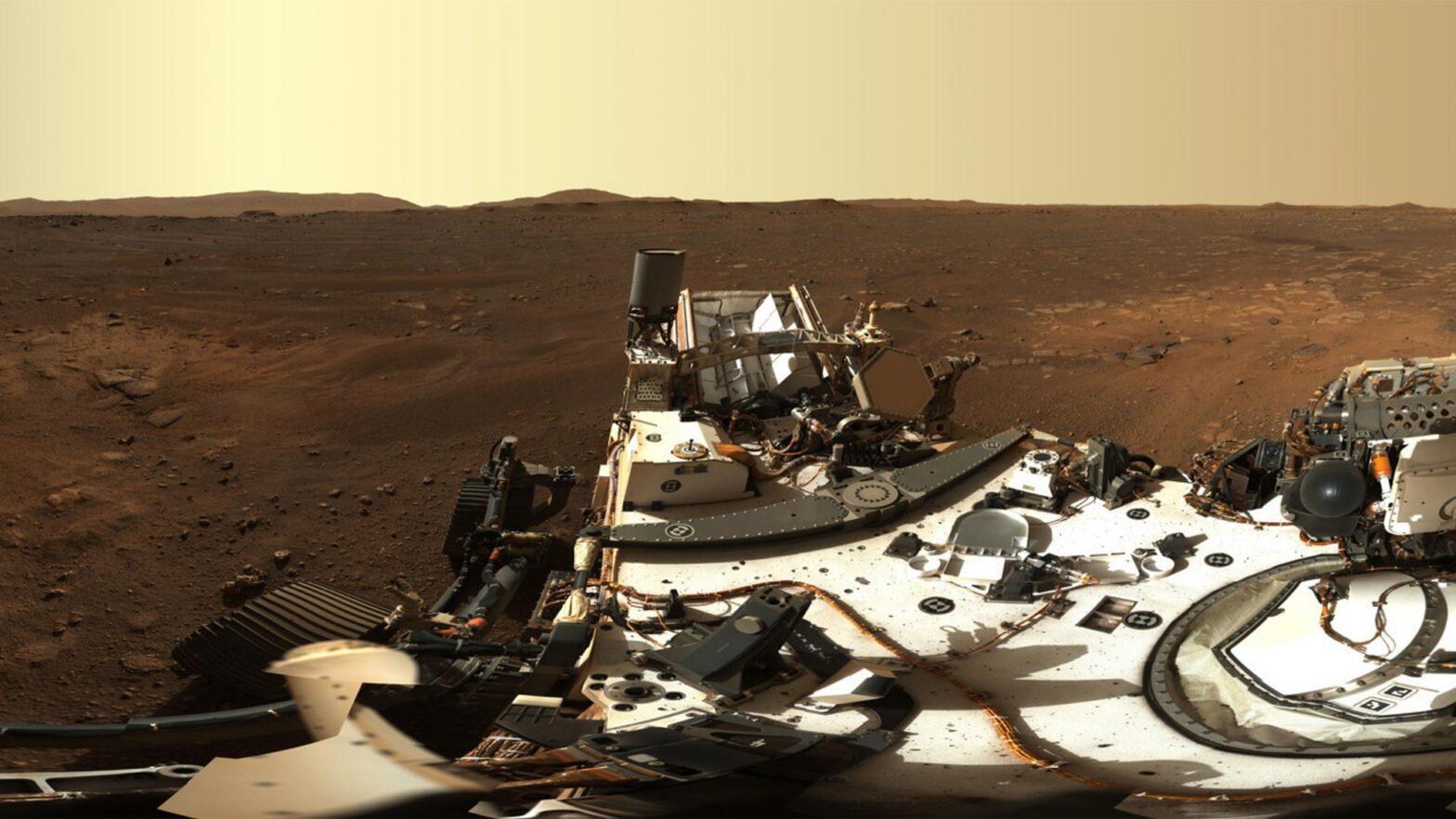 NASA Perseverance Rover Sends First Panoramic Views