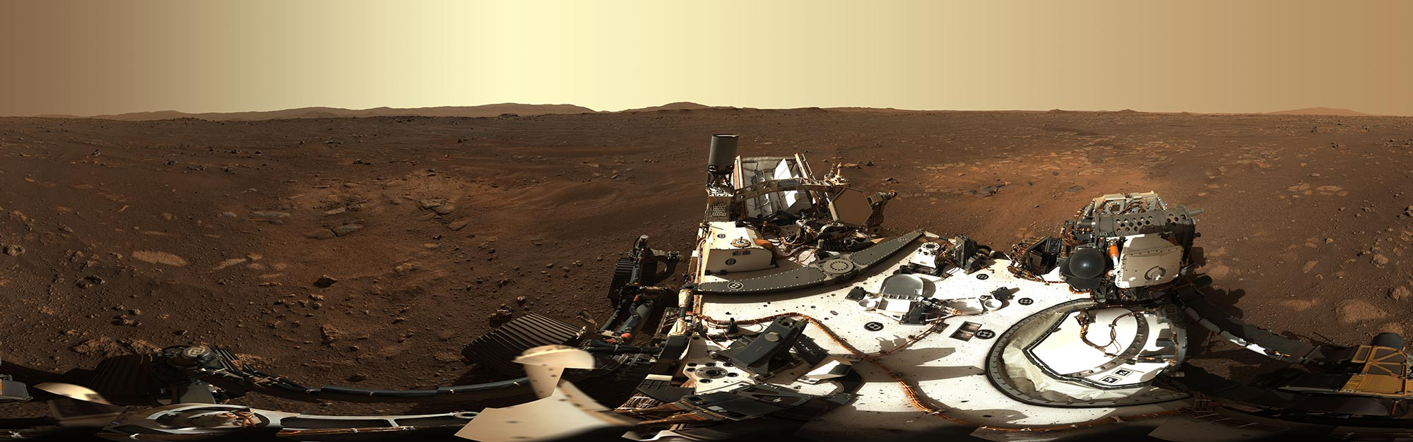 NASA Perseverance Rover Sends First Panoramic Views