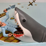 NECA <em>JAWS</em> Toony Terrors Will Let You Shove Quint Into Bruce's Mouth