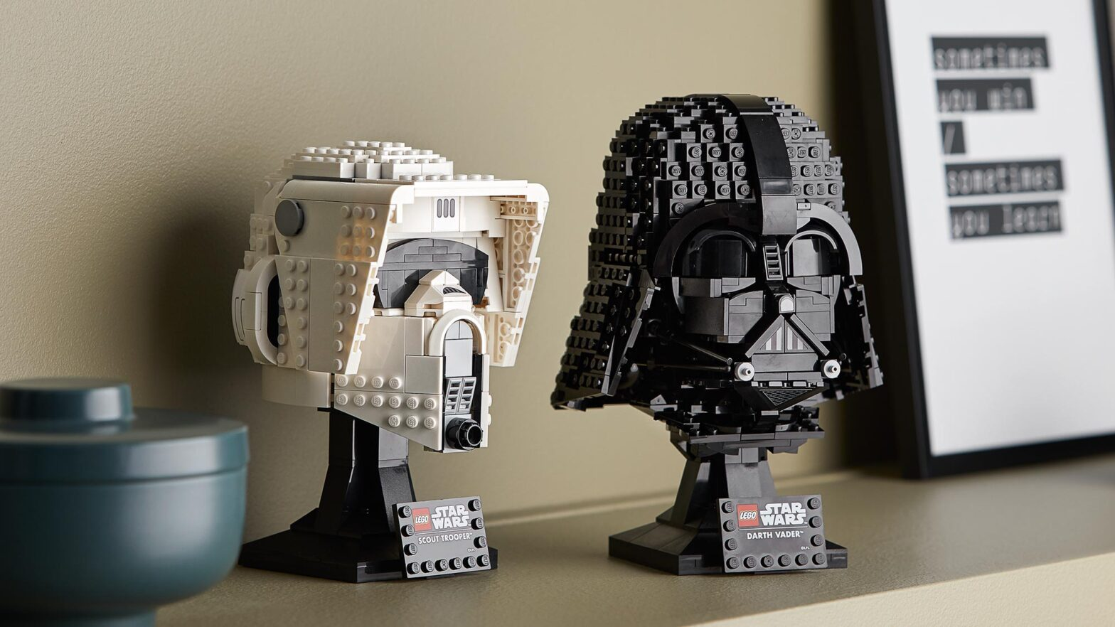 New LEGO Star Wars Helmet Sets Revealed