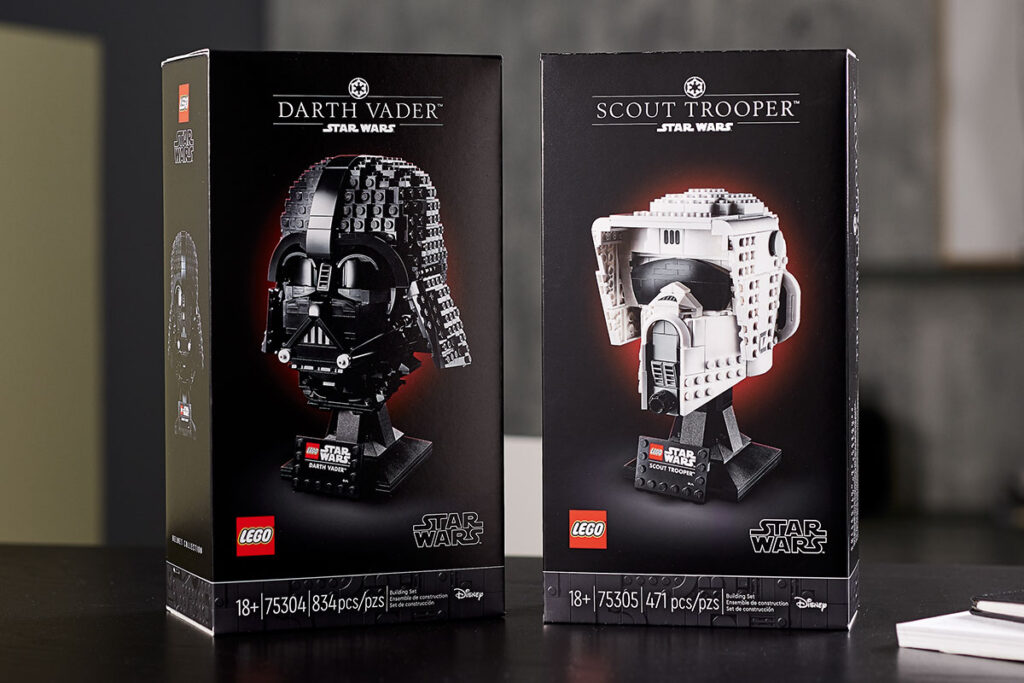 New LEGO Star Wars Helmet Sets Revealed