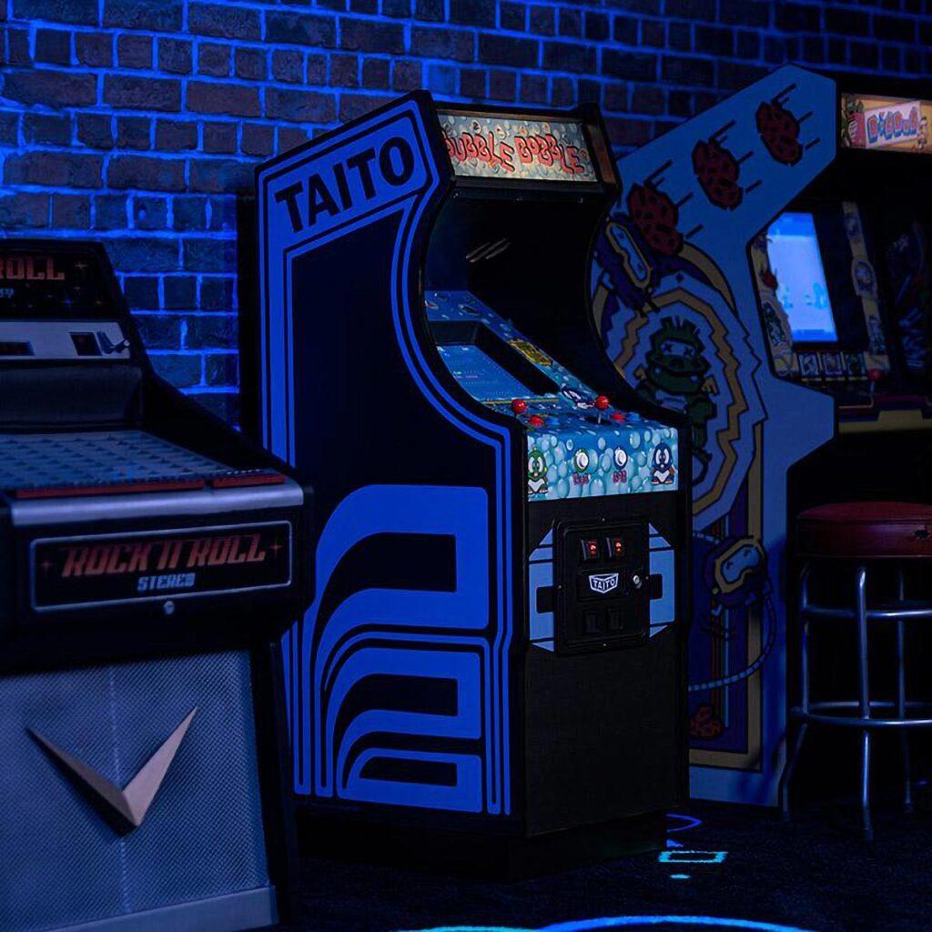 Official Bubble Bobble Quarter Scale Arcade Cabinet