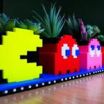 <em>Pac-Man</em> And Ghosts Planter Set: Perfect Gardening Accessory For Arcade Fans