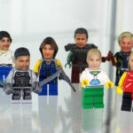 Personalized Minifigure With 3D Printed Miniature Head Sculpt Of Your Head