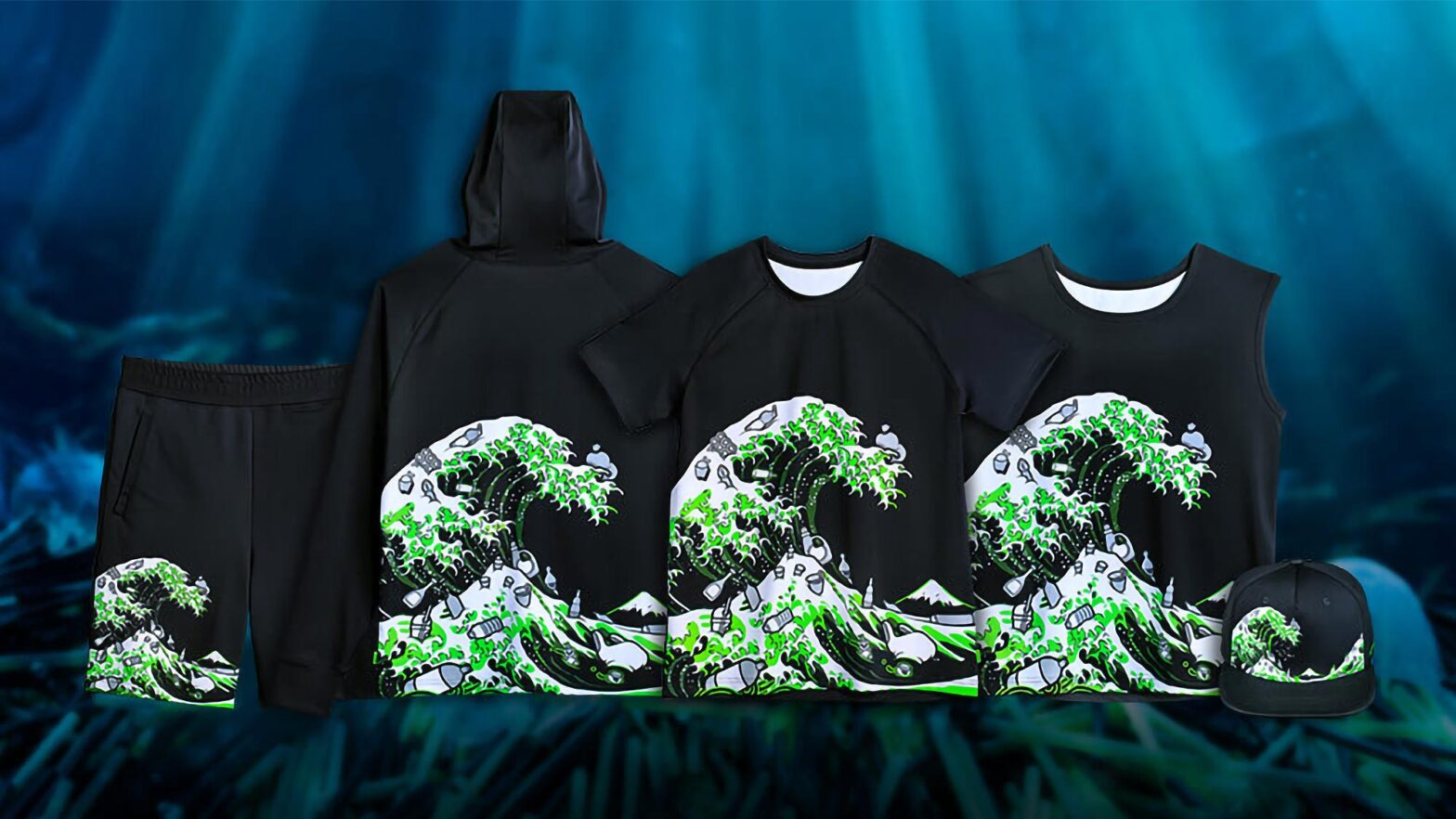 Razer Kanagawa Wave Apparel Collection