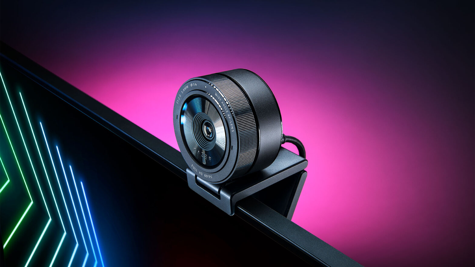 Razer Kiyo Pro Webcam with Adaptive Light Sensor