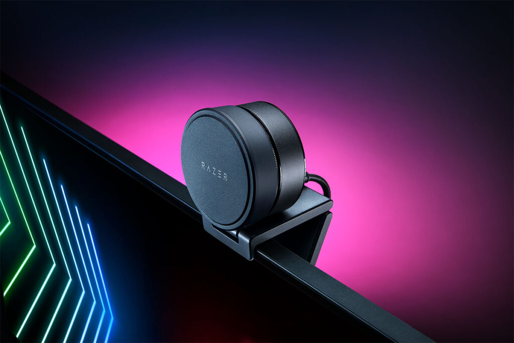 Razer Kiyo Pro Webcam with Adaptive Light Sensor