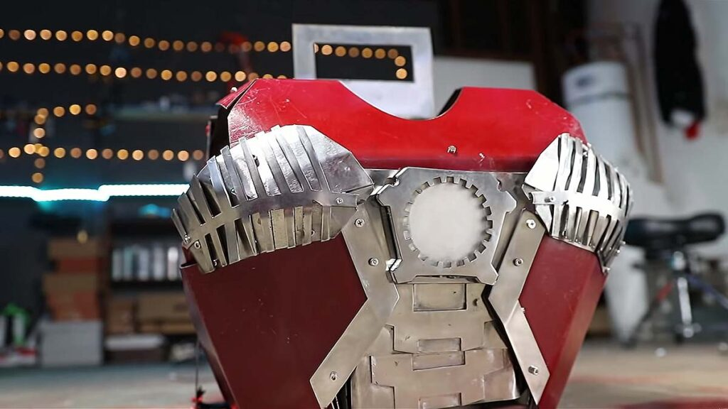 Real Iron Man Expandable Briefcase Suit