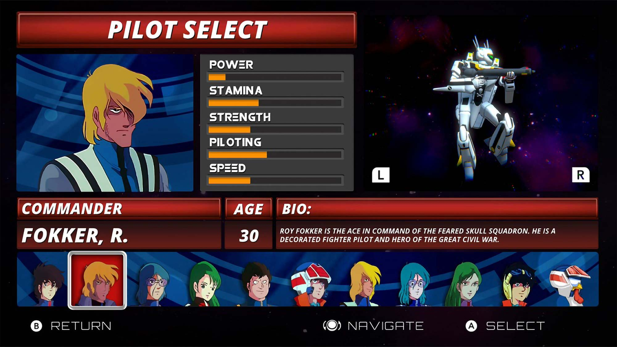 Robotech The Macross Saga HD Edition Video Game