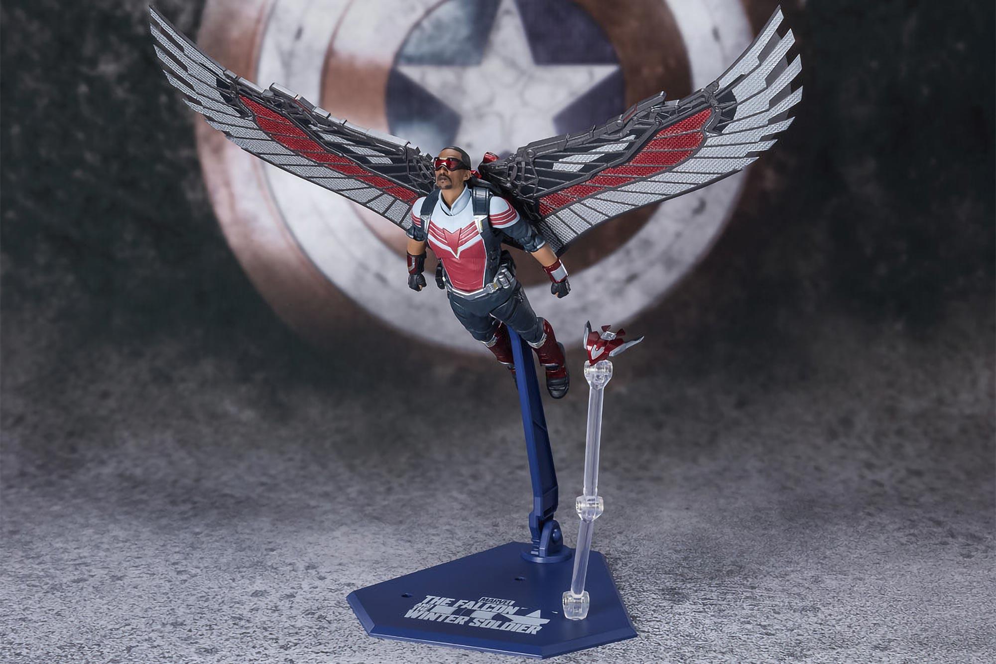 S.H.Figuarts The Falcon Action Figures