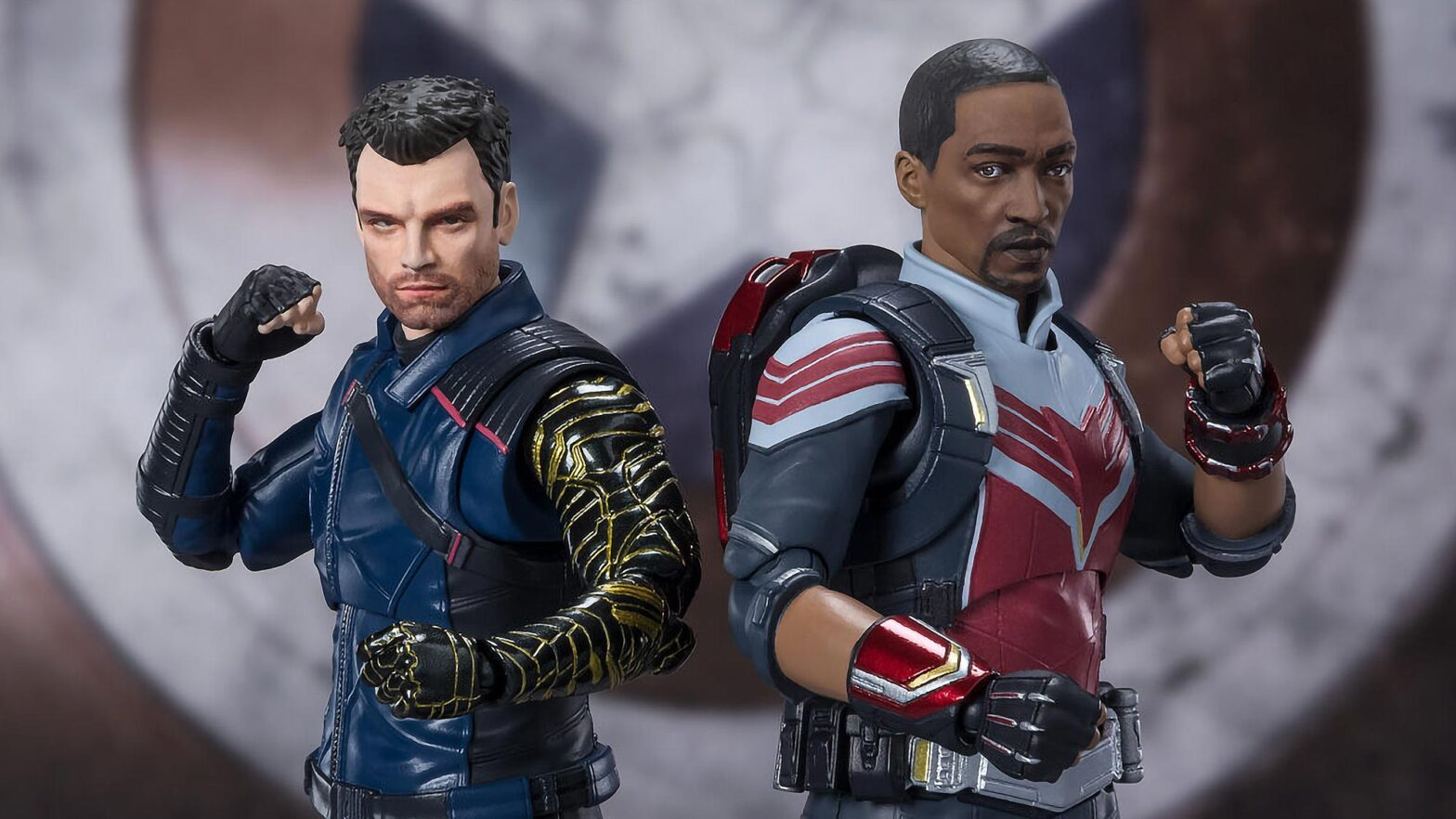 S.H.Figuarts The Falcon and Winter Soldier Figures