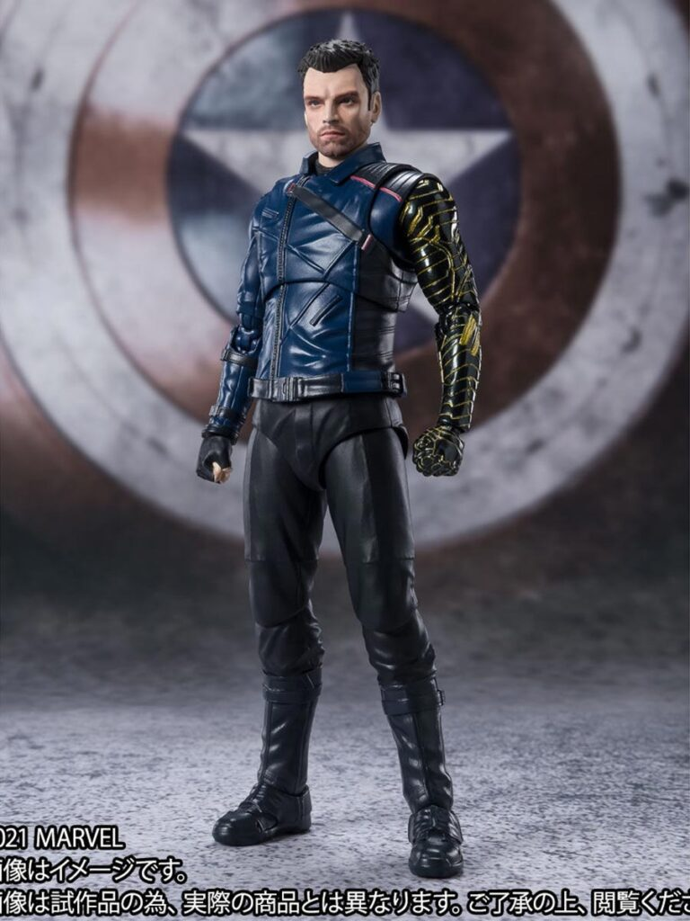 S.H.Figuarts The Winter Soldier Action Figures