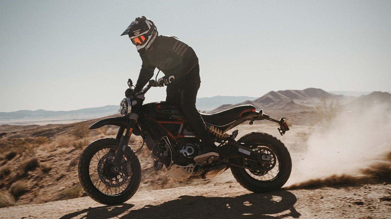 Scrambler Ducati Desert Sled Fasthouse