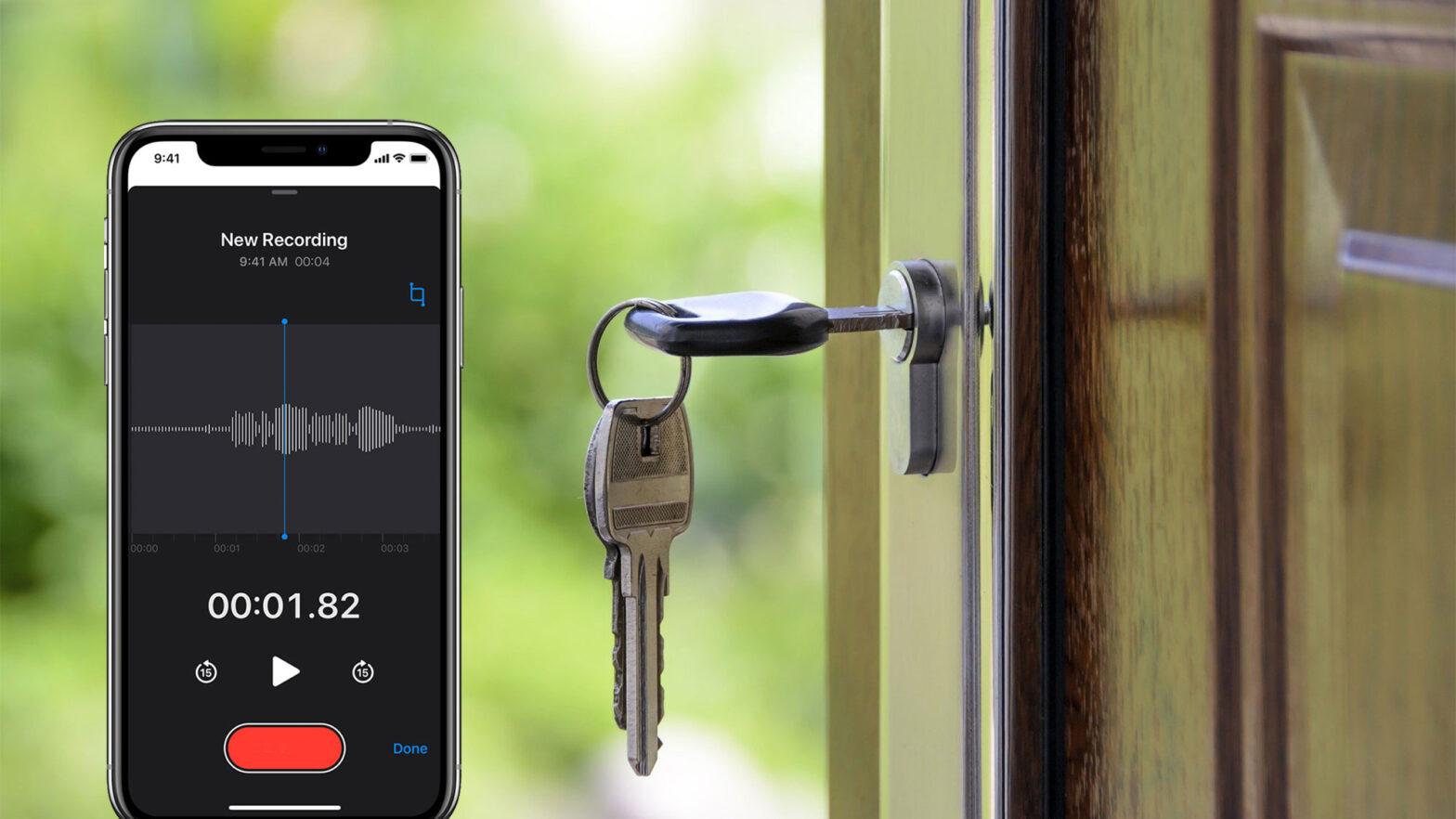 Smartphone Can The Shape Of Door Keys