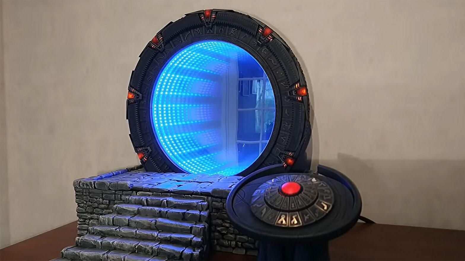 Stargate Einstein-Rosen Bridge Portal by Kristian Tysse