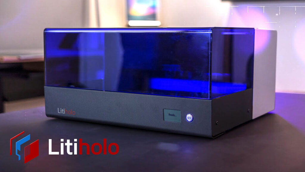 The First Desktop 3D Hologram Printer by Litiholo
