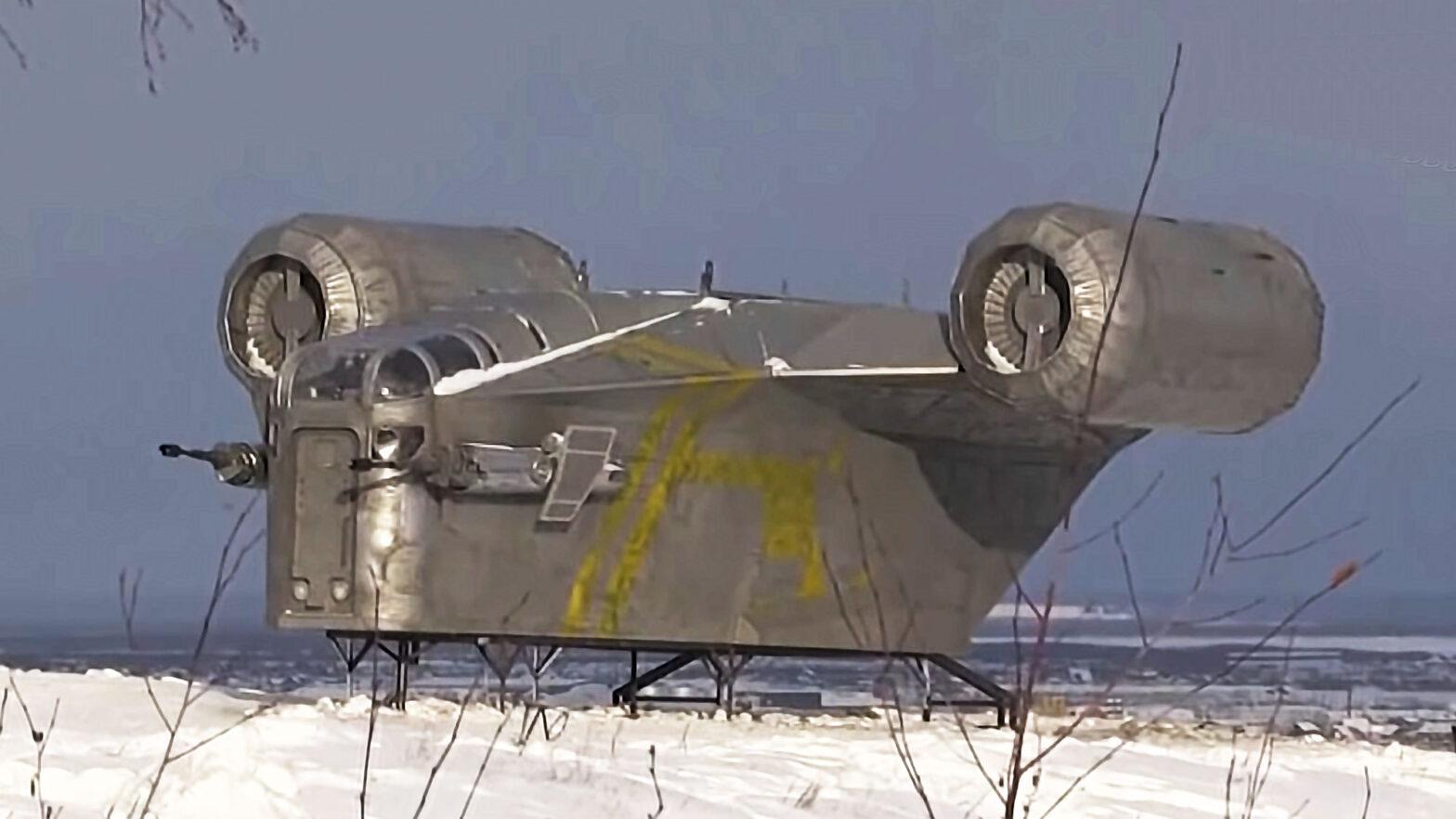 The Mandalorian Razor Crest Replica Siberia