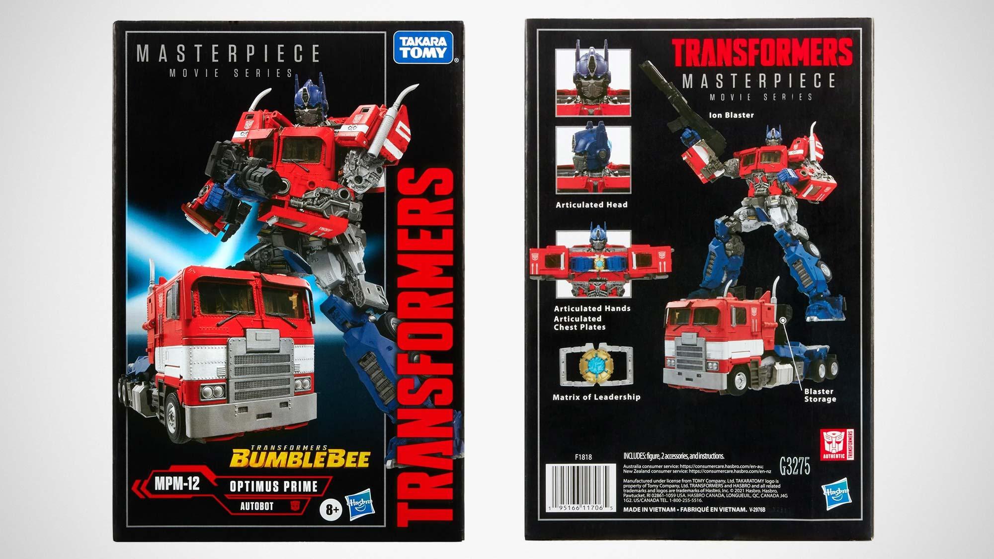 Transformers Masterpiece Movie MPM-12 Optimus Prime