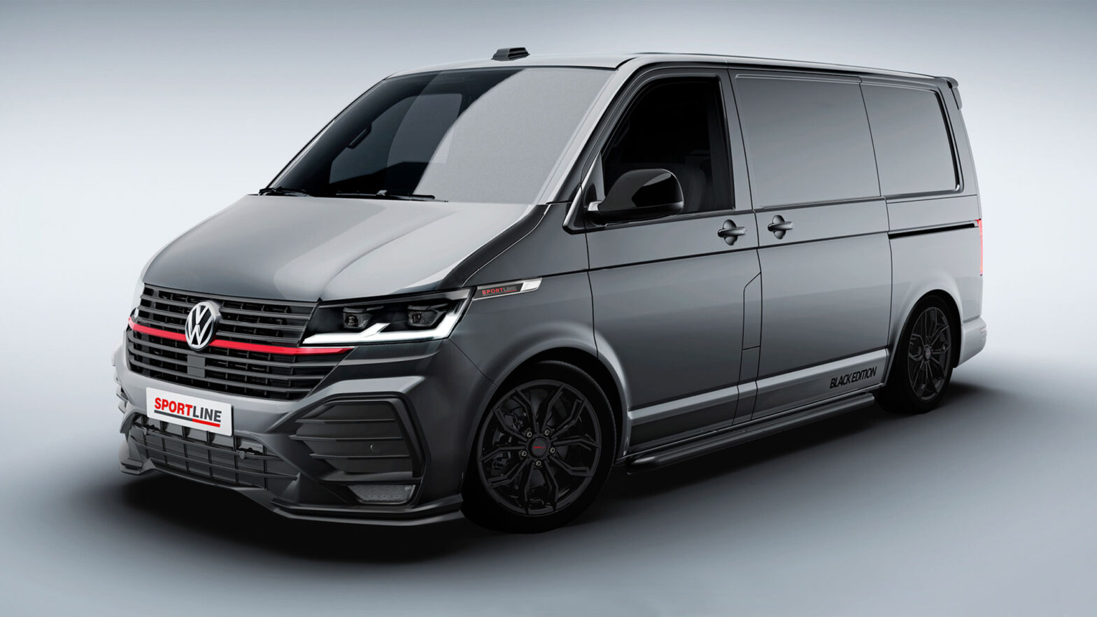 Volkswagen Transporter T6.1 Sportline Revealed