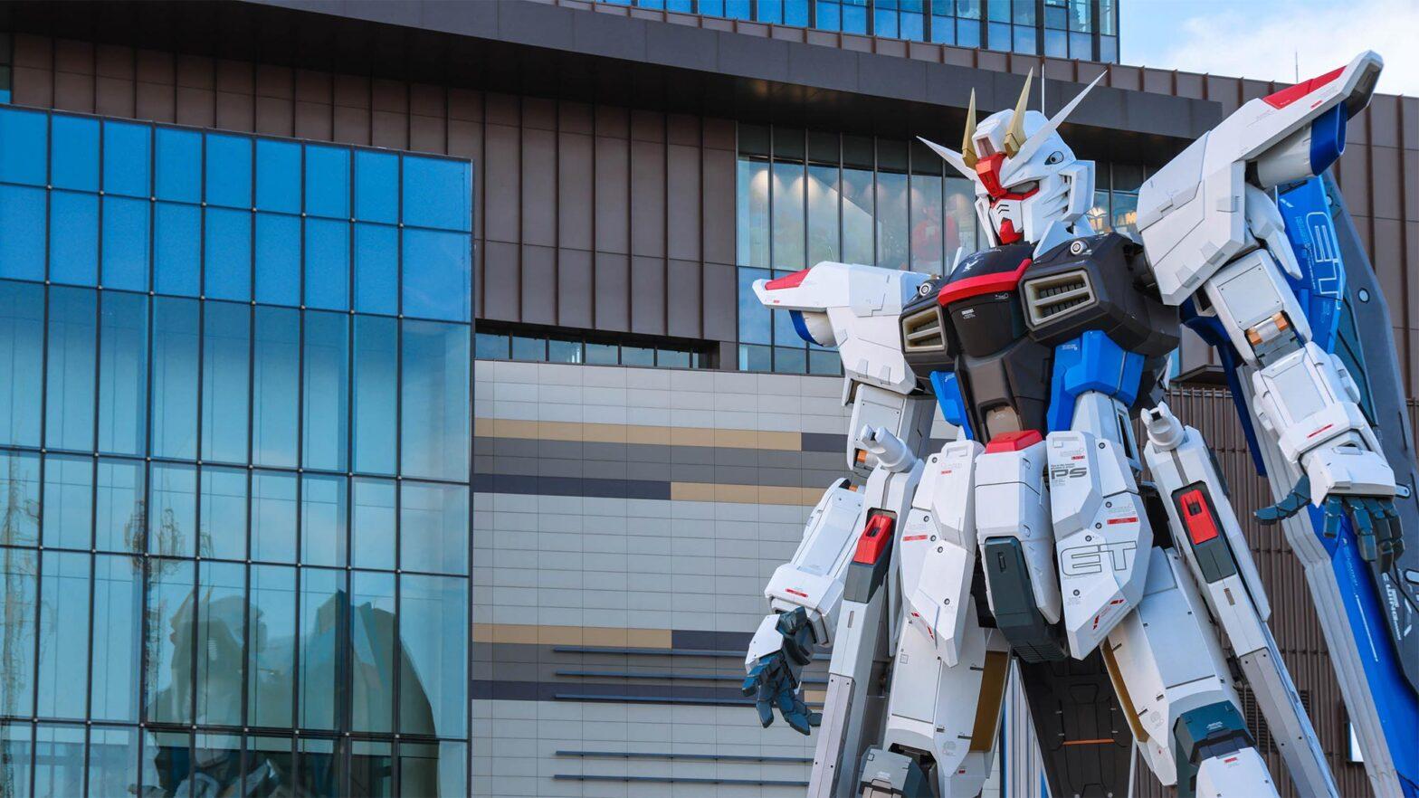 18-meter Tall Gundam Statue in China