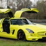 Super Rare 2013 Mercedes-Benz SLS AMG Coupe Electric Drive Has Been Put For Sale