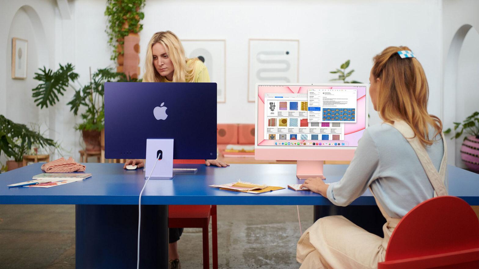 2021 24-inch Apple iMac Computer