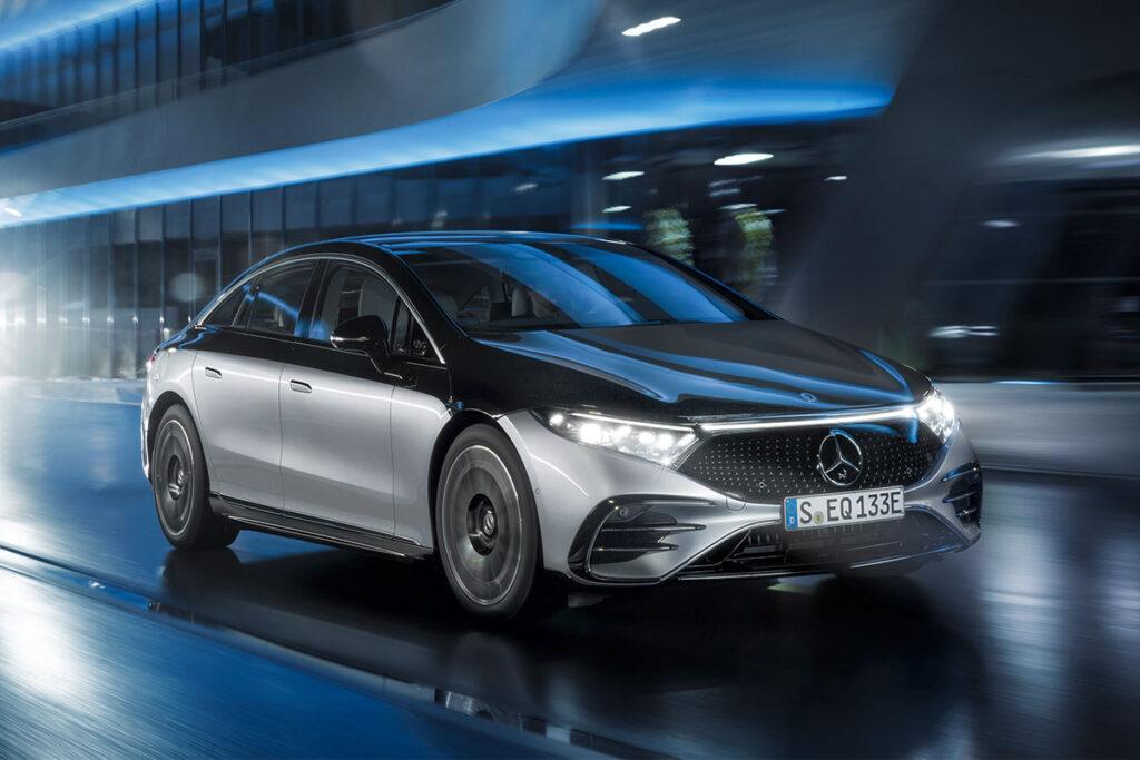 2022 Mercedes-Benz EQS Electric Sedan