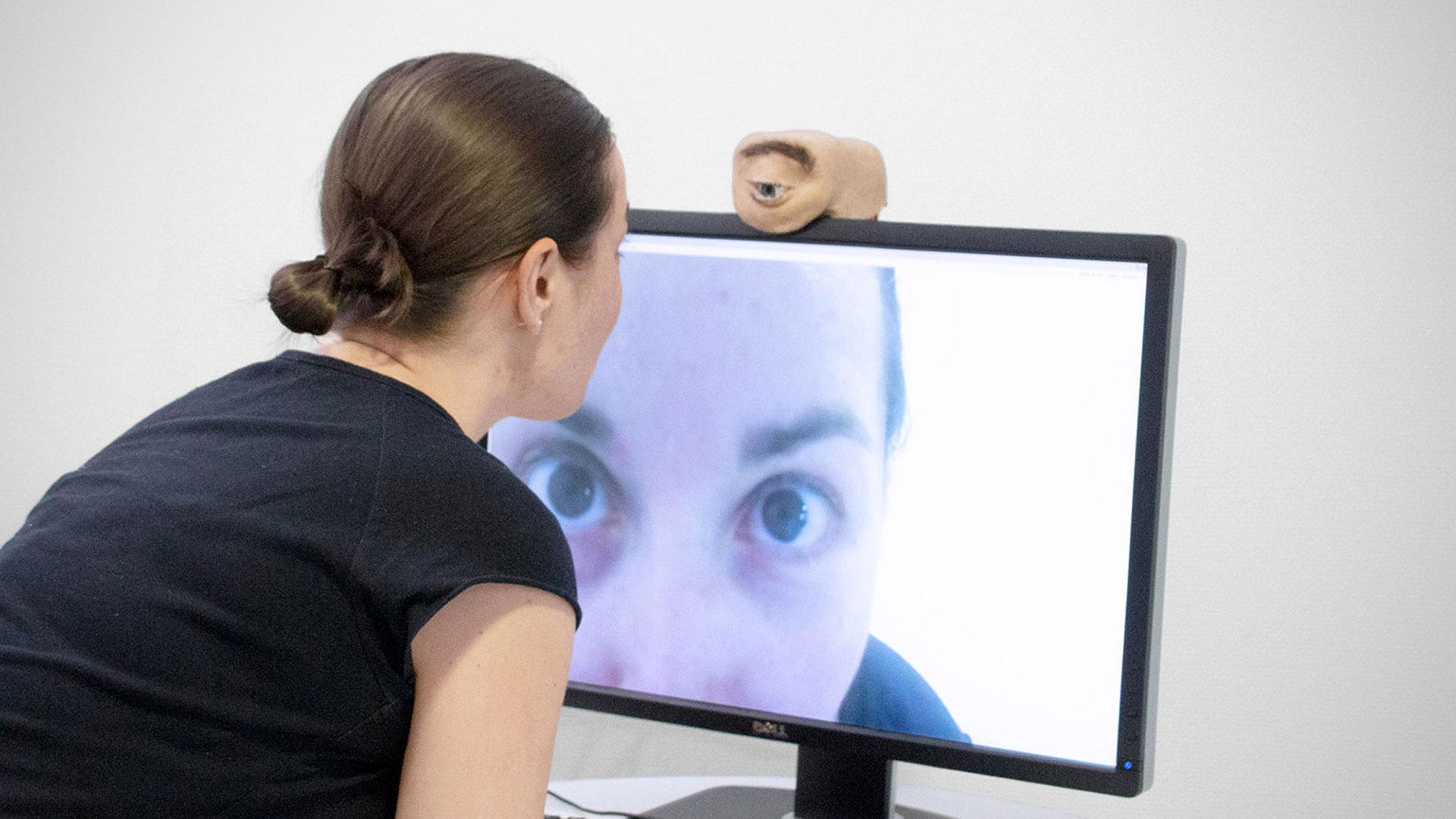 Anthropomorphic Webcam Saarland University
