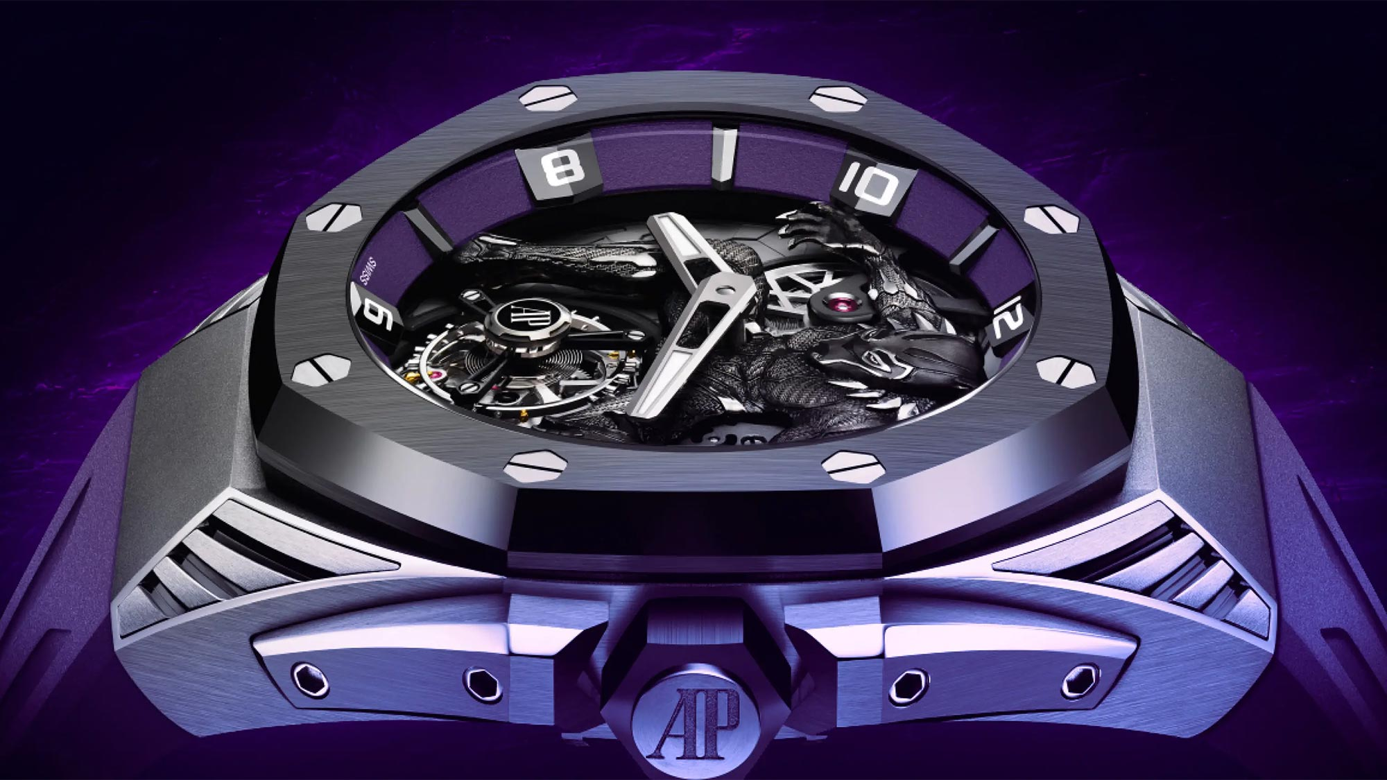 Audemars Piguet x Marvel Royal Oak Concept Black Panther Flying Tourbillon