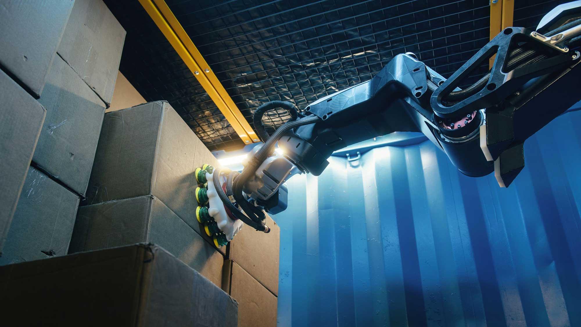 Boston Dynamics Stretch Warehouse Robot