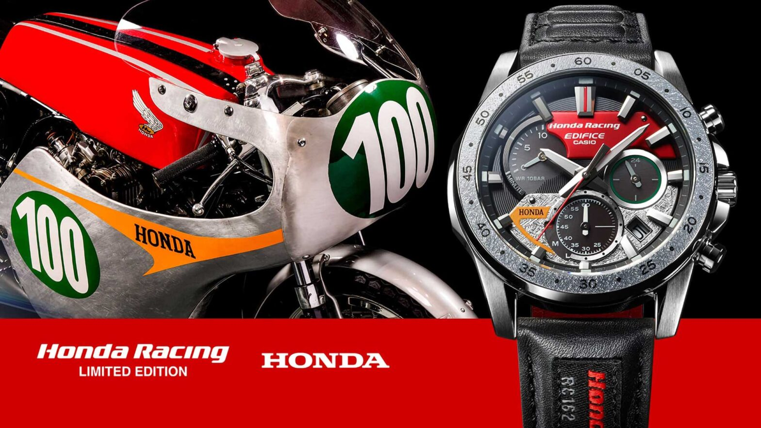 Casio x Honda Racing EQS-930HR Wrist Watch