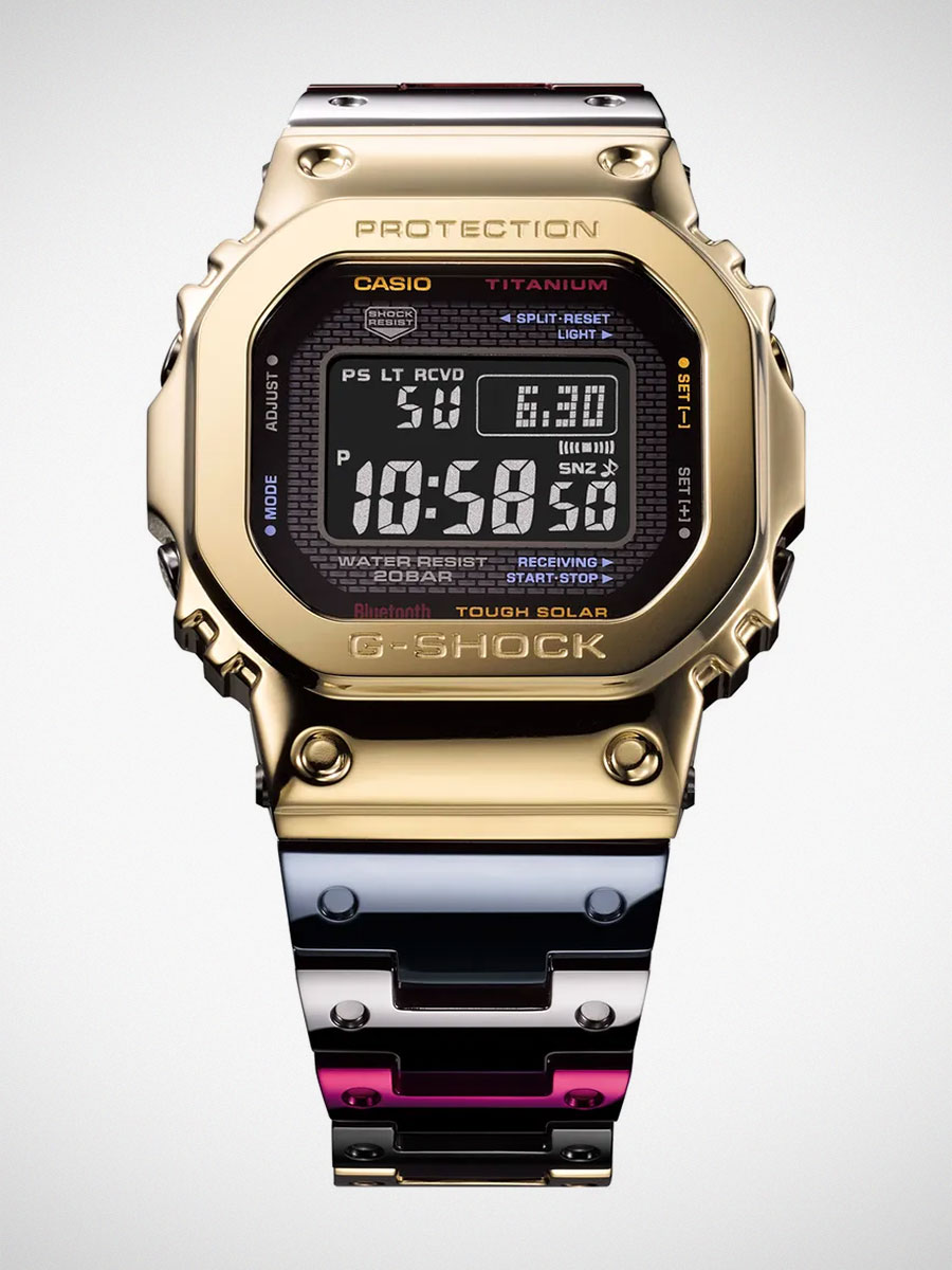 G-Shock GMW-B5000TR Titanium Alloy Watch