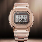 Rose Gold Ion Plated Finish Joins G-Shock's Premium Full Metal Series